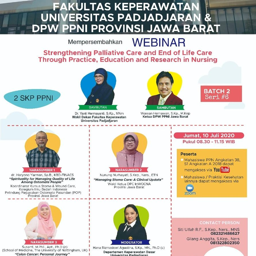 Strengthening Palliative Care and End of Life Care Through Practice, Education and Research in Nursing