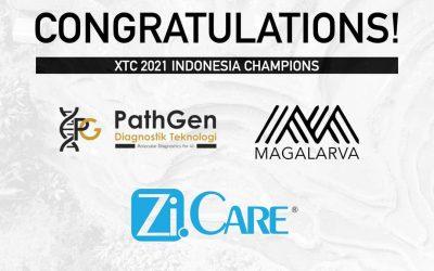 PathGen Top 3 start-up XTC 2021 Indonesia