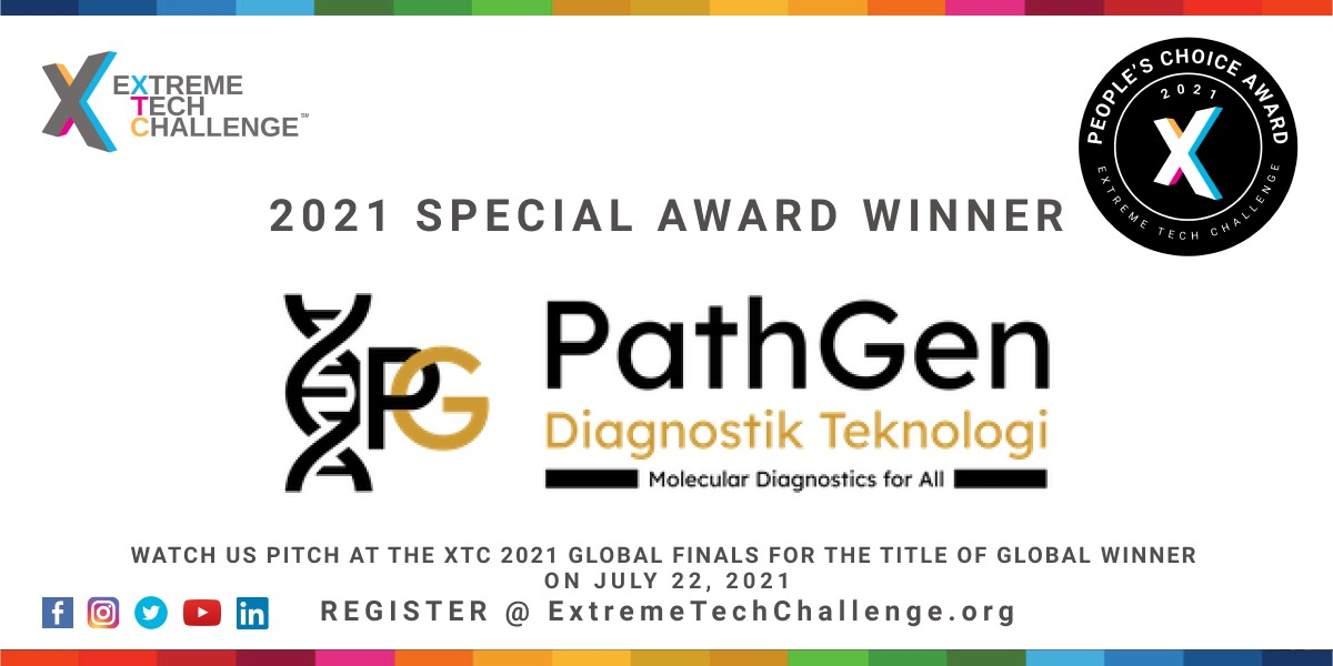 PathGen – Extreme Tech Challenge 2021 Special Awards Winners Headed to Global Finals